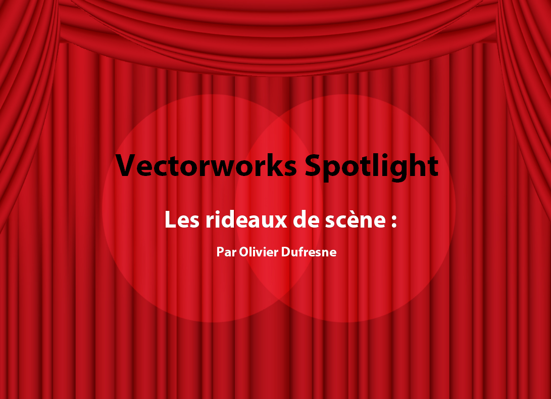 Vectorworks Spotlight tutoriels